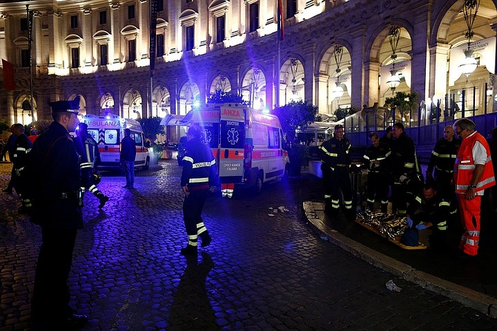 Фанаты ЦСКА пострадали в римском метро из-за сломавшегося эскалатора