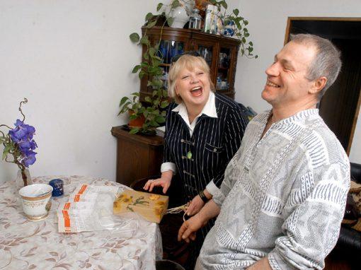 Светлана Крючкова с Александром
