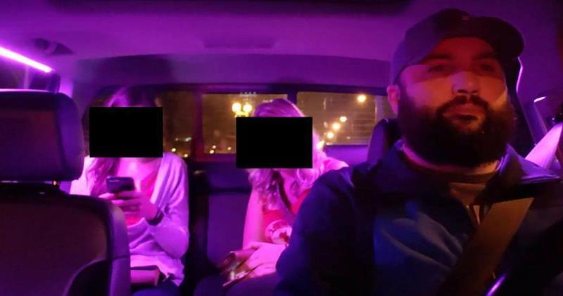 Водитель Uber тайком от пассажиров провел 700 платных стримов