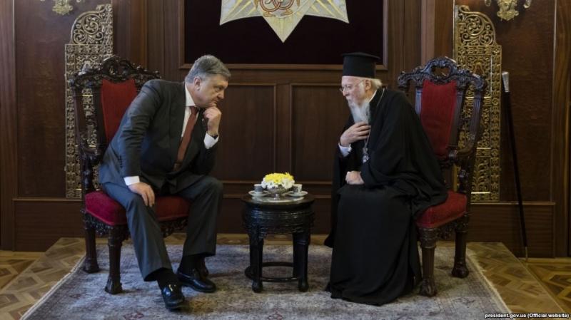 «Под гнет Варфоломея»: автокефалия украинской церкви рискует оказаться блефом