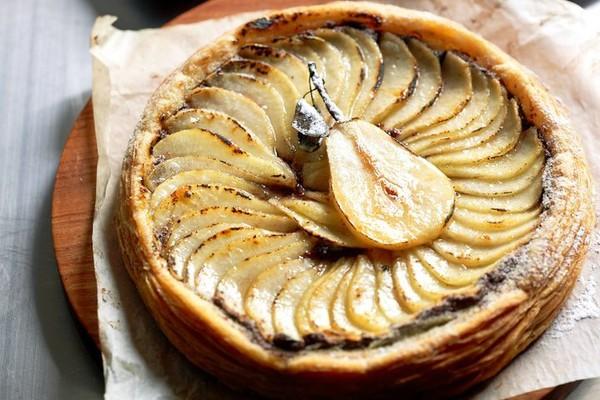 Как приготовить грушевый пирог