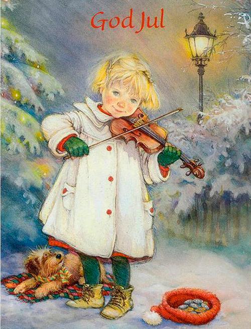 девочка играющая на скрипке