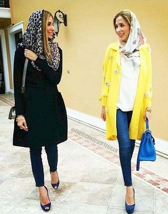 Современные иранские модницы| Фото: ic.pics.livejournal.com.