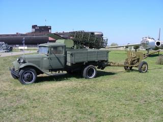 Грузовой автомобиль ГАЗ – АА (экспозиция технического музея ВАЗа)