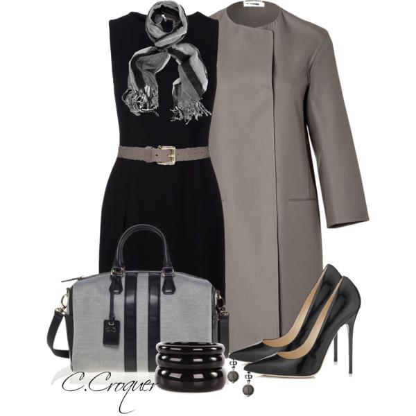 Футляр + пальто = идеальный осенний образ