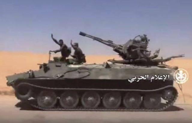 Сирийская армия получила новое бронеподкрепление