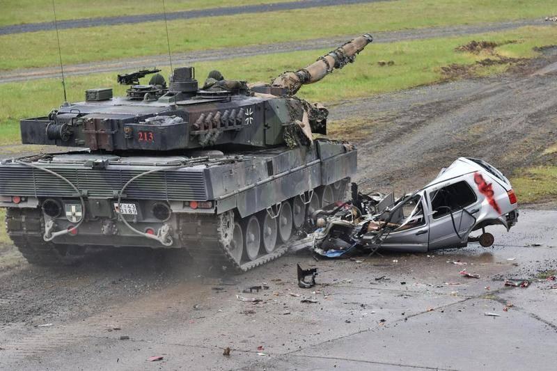 В Германии подвели итоги европейского танкового биатлона