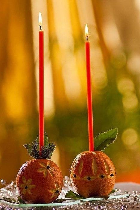 Рождественский апельсин