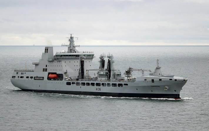 Введено в строй новое британское судно комплексного снабжения Tidespring