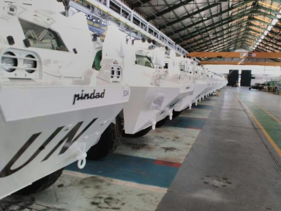 Cилы ООН приобрели 80 индонезийских бронетранспортеров Anoa