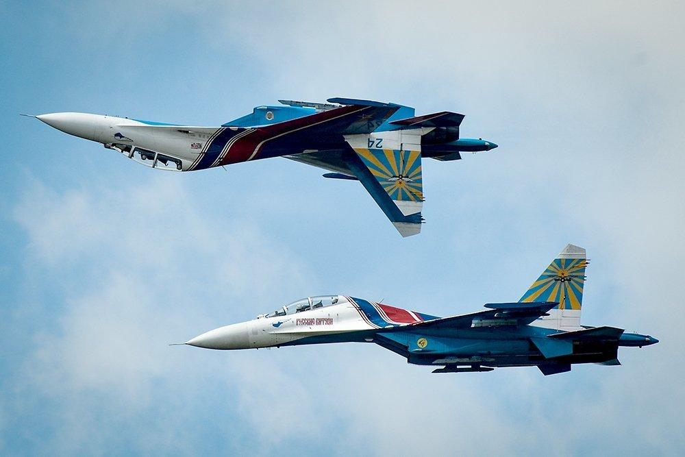 Кто победил в воздушном бою Су-27 и F-15 на украинских учениях