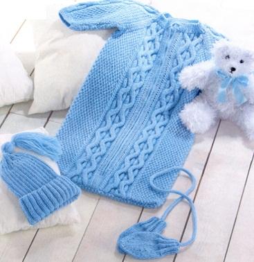 Комплект для новорождённого: