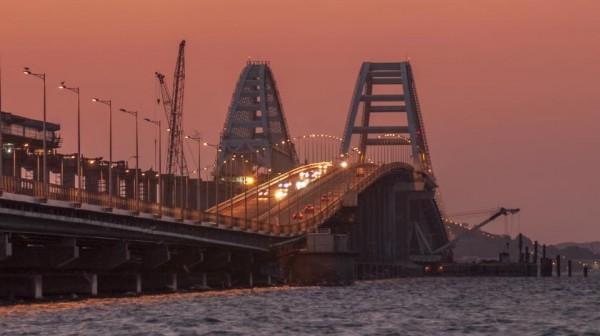 На Крымском мосту Украина за…