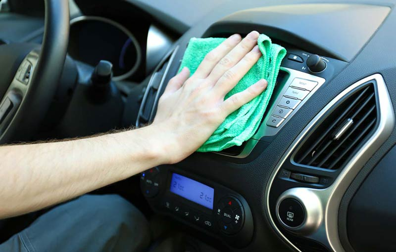 Как сделать химчистку салона автомобиля