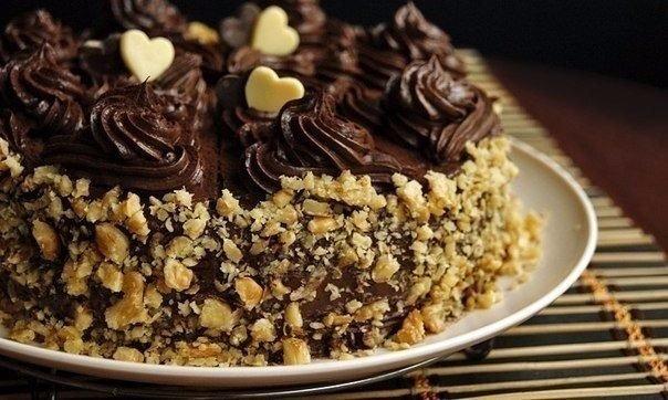 Вам очень понравится этот бесподобный шоколадный торт по ГОСТу