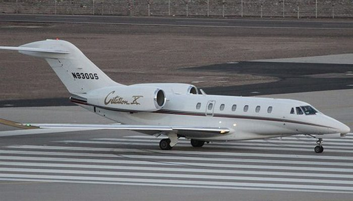 Пассажирский самолет Cessna Citation X.