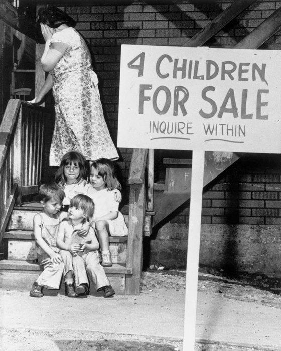 История детей, которых продавали через объявление