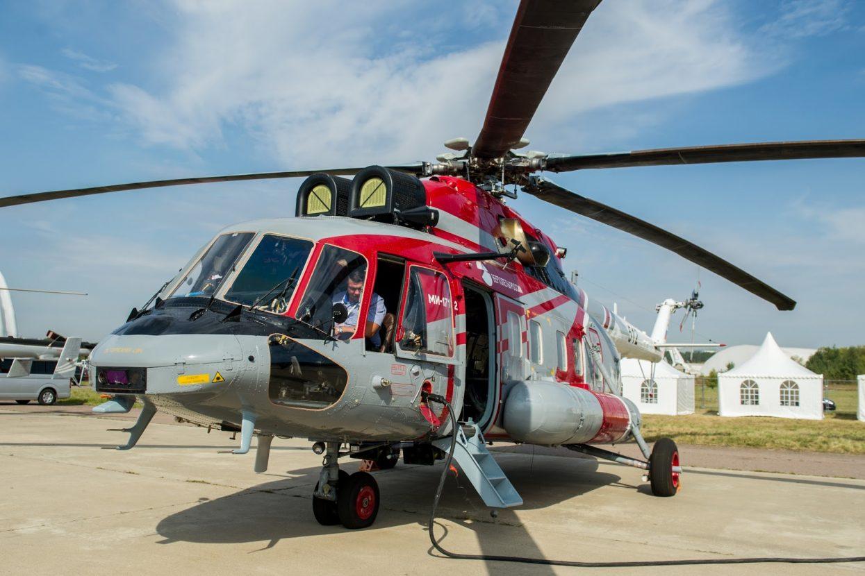 Российские вертолёты «Ансат»…