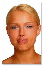 Достать языком кончик носа