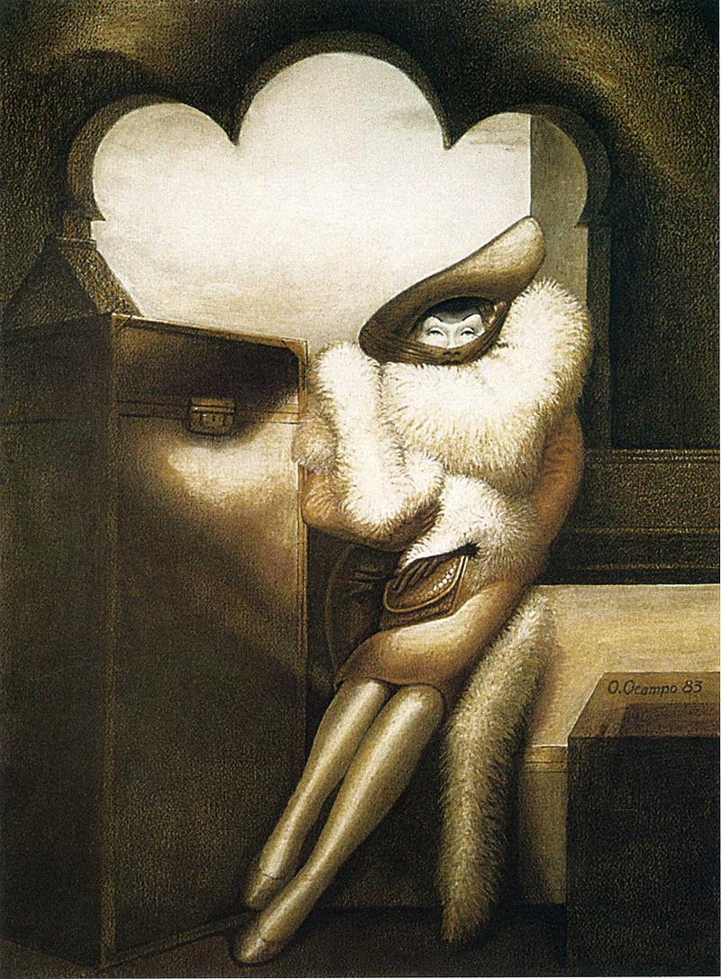 Картины художника Октавио Окампо 18