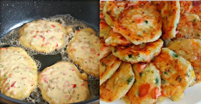 Вкуснейшие оладьи-пиццы: лучше завтрака не сыскать
