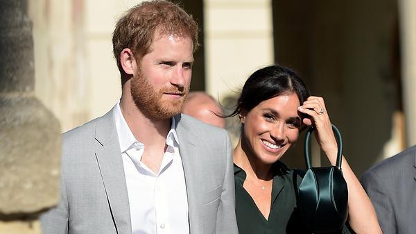 Принц Гарри и беременная Мег…