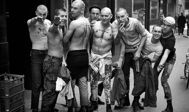 Скинхеды 1979-1983 годов на снимках Дерека Риджерса