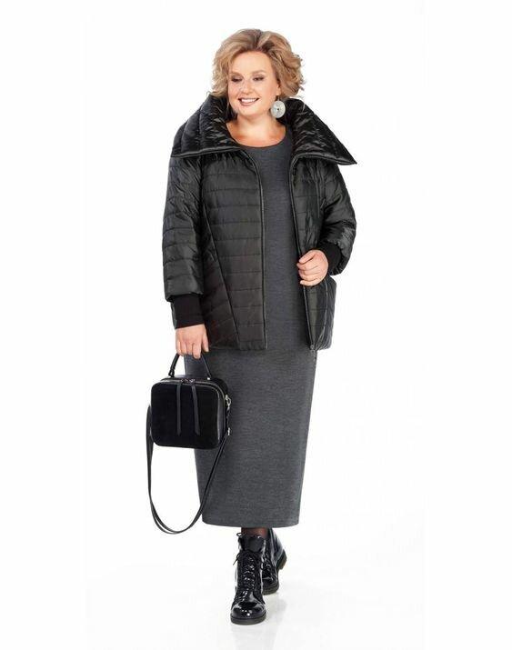 Трендовые пальто и куртки 2021 для полных женщин 50+