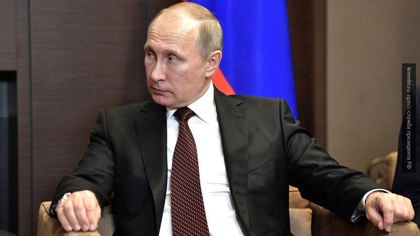 Путин отметил труд сотрудников и волонтеров Российского Красного Креста