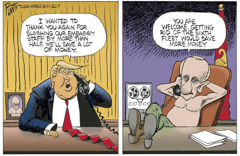 Почему американские либералы боятся России?