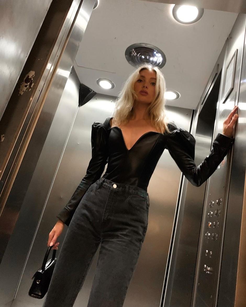Новый образ от самой стильной шведской модели: Эльза Хоск
