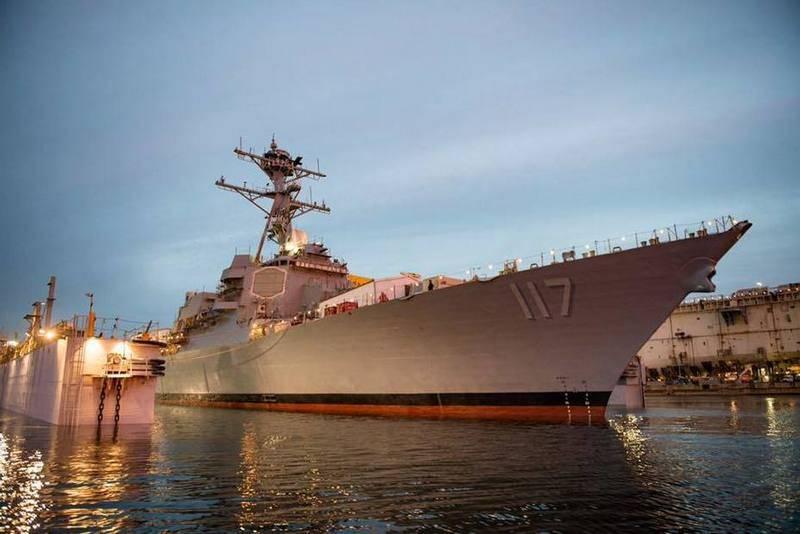 Американский флот пополнился ракетным эсминцем USS Paul Ignatius (DDG 117)