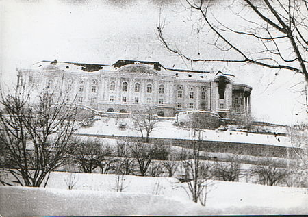 Дворец Х.Амина сразу после штурма. 27.12.1979 г. Фото: Абрамов Андрей