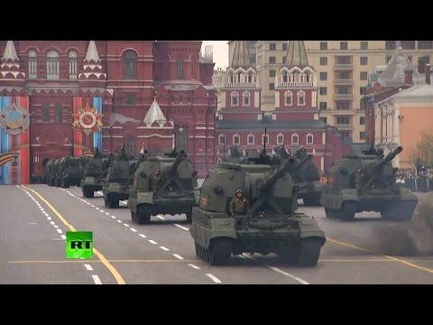 Парад на Красной площади в честь 72-й годовщины Победы
