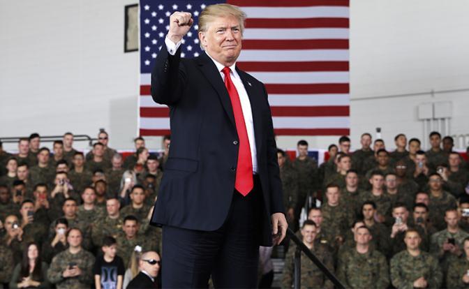 Дональд Трамп: Мне досталась в наследство «бумажная армия»