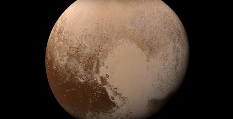 Зонд NASA обнаружил семь облаков в атмосфере Плутона