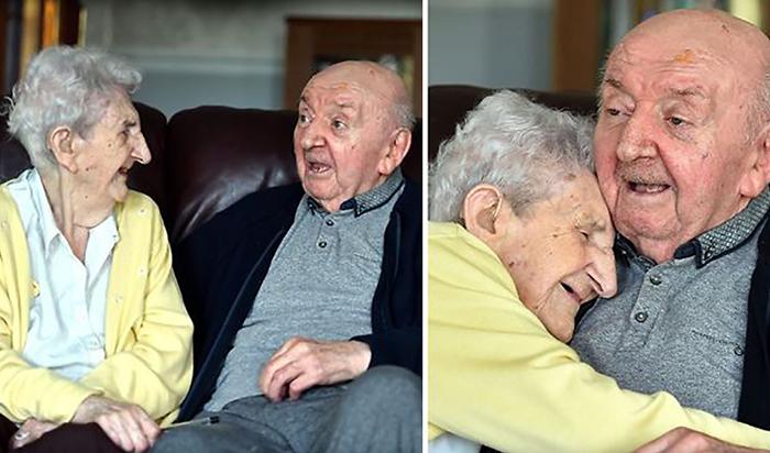 98-летняя мама специально переехала в дом престарелых, чтобы заботиться о своем 80-летнем сыне