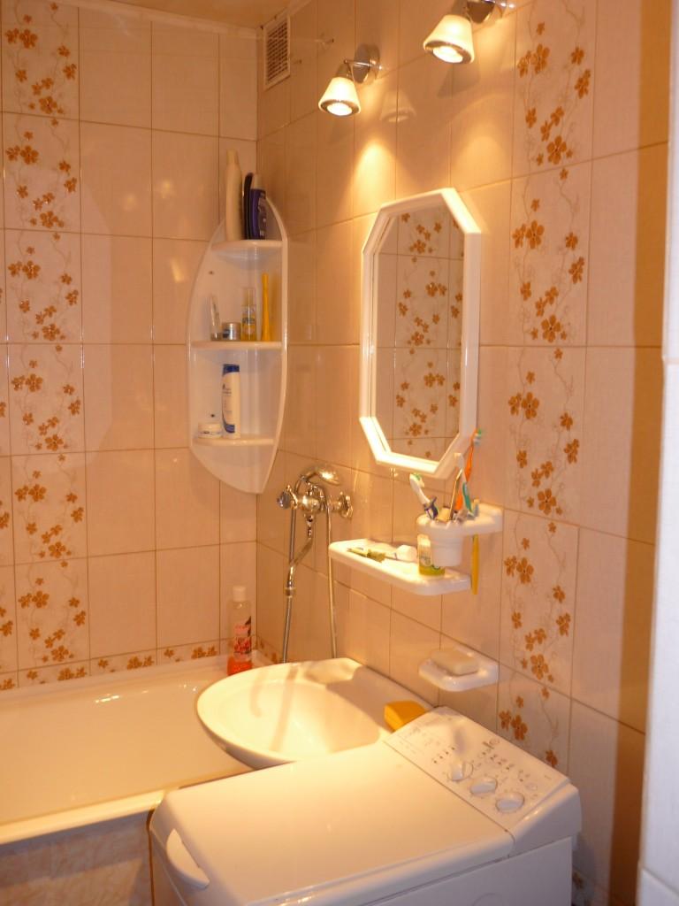 Оформить ванную комнату своими руками недорого 85