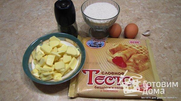 Самса с сыром для ленивых фото к рецепту 1