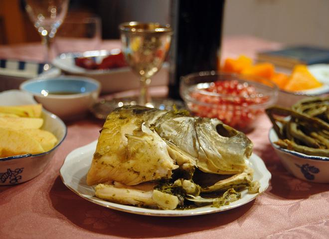 Национальные еврейские блюда…