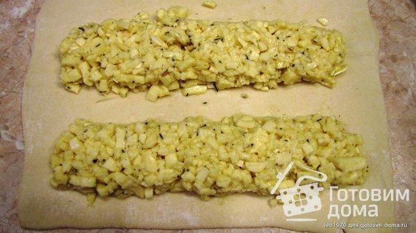 Самса с сыром для ленивых фото к рецепту 6