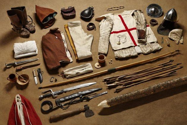 Боевые наборы солдат в разные века