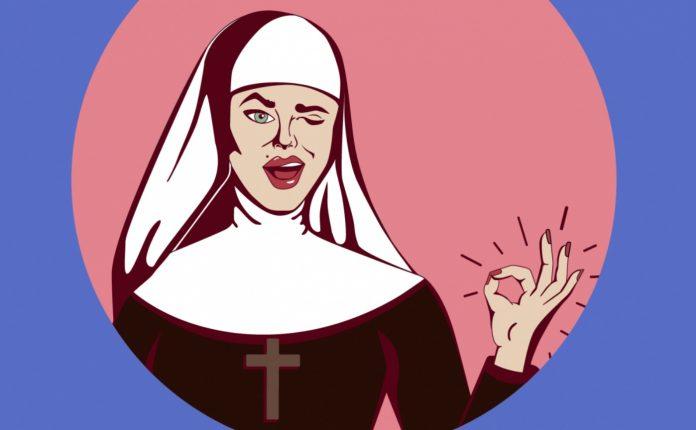 Анекдот о монахине, узнавшей…