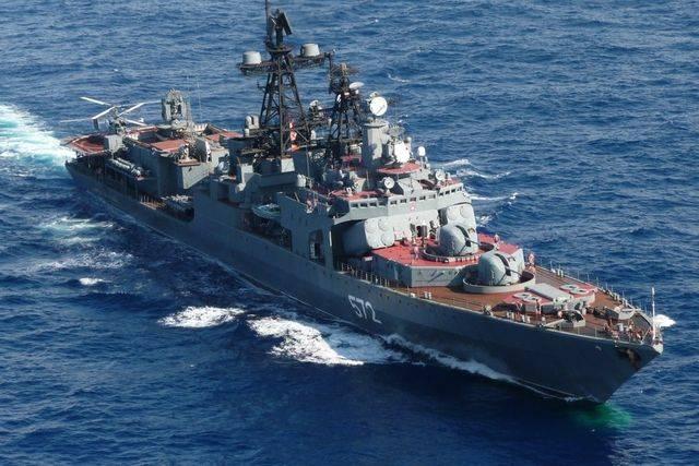Российские военные корабли прибыли на Филиппины