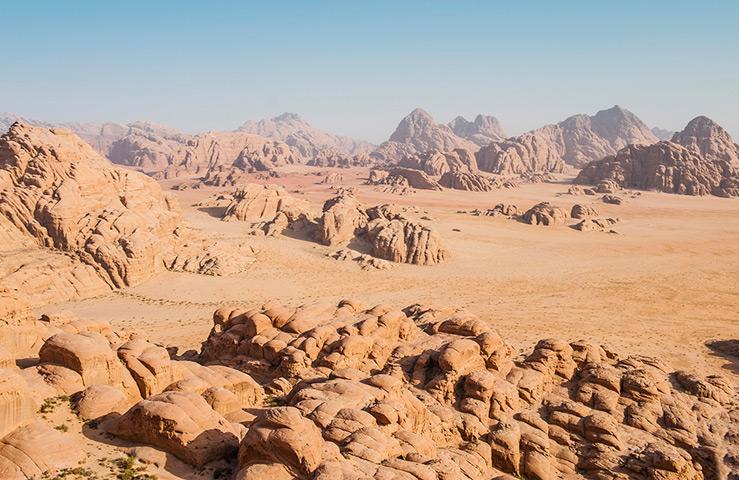 Пустыня Вади Рам (Иордания)