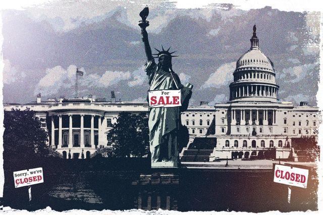 Страна-изгой, страна-лесопилка и порванная в клочья экономика - и всё это США