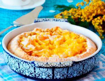Рецепт шарлотки с апельсинами