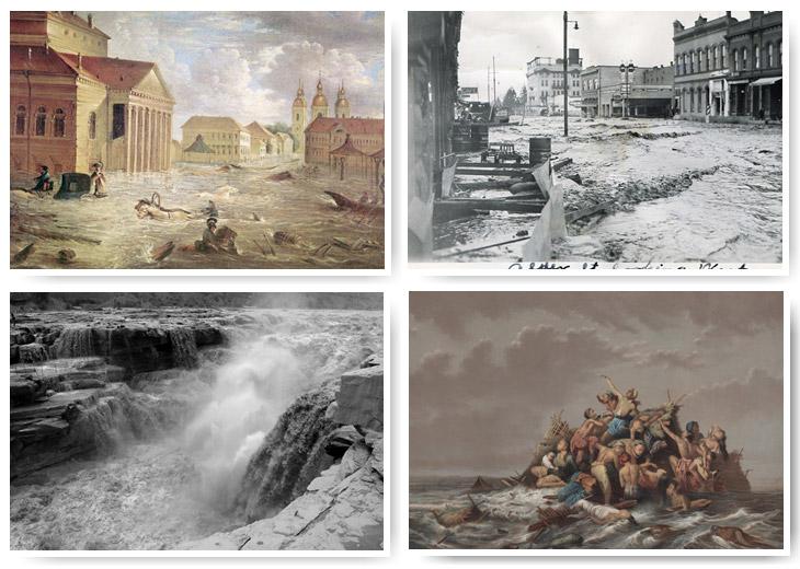 Самые страшные в мире наводнения