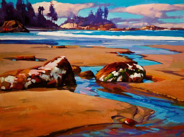 Для тех, кто любит игру чистых ярких красок — неистовой красоты пейзажи Mike Svob