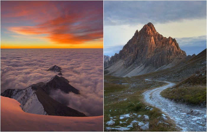 Неземная красота Альп